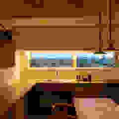 離れ座敷と土間のある暮らし オリジナルデザインの キッチン の エヌ スケッチ オリジナル