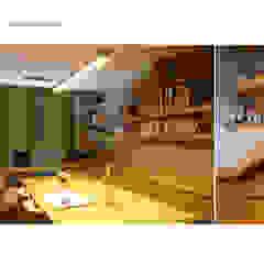 من 스튜디오메조 건축사사무소 تبسيطي خشب Wood effect