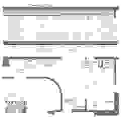 Cocina ampliada Cocinas de estilo ecléctico de KorteSa arquitectura Ecléctico