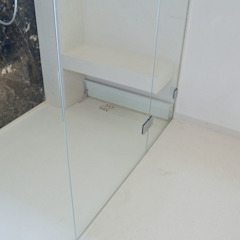 Ströhmann Steindesign GmbH Modern bathroom Limestone Beige