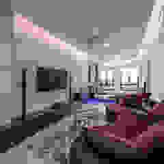 Majestic Contemporary | BUNGALOW minimalist style media rooms by Design Spirits Minimalist