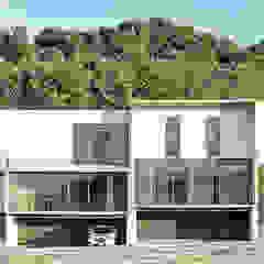 Minimalistische Häuser von La Desarrolladora Minimalistisch Beton