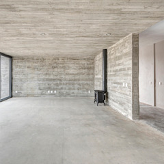 Minimalistische Wohnzimmer von La Desarrolladora Minimalistisch Beton