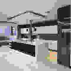 Residence Calaca Modern kitchen by FRANCOIS MARAIS ARCHITECTS Modern