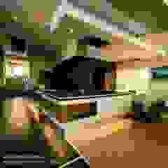 House Wolmarans Modern kitchen by Coetzee Alberts Architects Modern