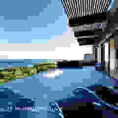 Modern terrace by Coetzee Alberts Architects Modern