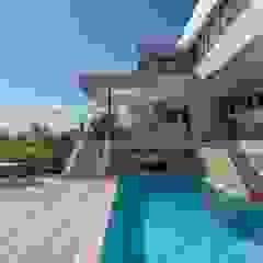 Maisons modernes par MARVIN FARR ARCHITECTS Moderne