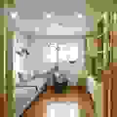 송현리 주택 아시아스타일 미디어 룸 by 위드하임 한옥