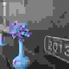 T's Garden Square Co.,Ltd. Casas de estilo asiático Madera Azul