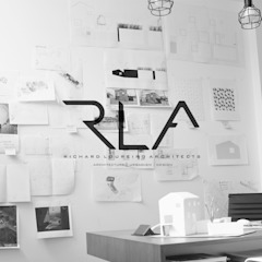RLA_Office por RLA | RICHARD LOUREIRO ARCHITECTS Escandinavo