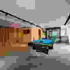 FRANKEL STREET Modern media room by Eightytwo Pte Ltd Modern