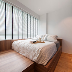 WATERCOLOURS Scandinavian style bedroom by Eightytwo Pte Ltd Scandinavian