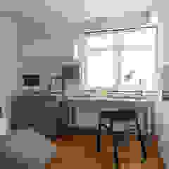 PARKLAND RESIDENCES Scandinavian style study/office by Eightytwo Pte Ltd Scandinavian