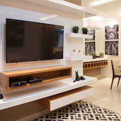 Modern style media rooms by Only Design de Interiores Modern