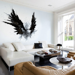 Living Room Modern living room by Pixers Modern