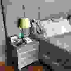 Estilo en muebles BedroomBeds & headboards Synthetic Grey