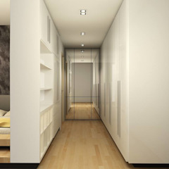 The Sanderson Home Modern style dressing rooms by inDfinity Design (M) SDN BHD Modern