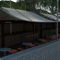 Modern Dining Room by Atahualpa 3D Modern