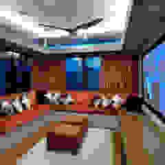 Kampung Tunku House Modern style media rooms by MJKanny Architect Modern