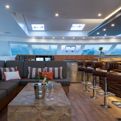 CATAMARAN INTERIOR by ONNAH DESIGN Mediterranean