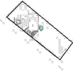 Conjunto Loft estudio C.A. Casas de estilo rural Verde