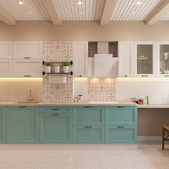 Country style kitchen by Center of interior design Country