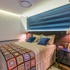 Eclectic style bedroom by Lo. interiores Eclectic