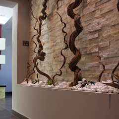 Officina design Corridor, hallway & stairs Accessories & decoration Stone Grey