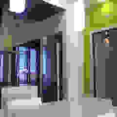 Officina design Modern kitchen Green