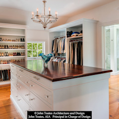 Classic style dressing rooms by John Toates Architecture and Design Classic