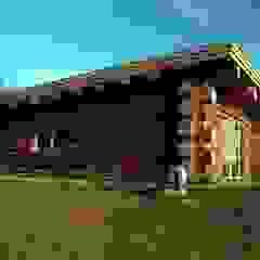 Nadbudowa Grzegorzowice Rustykalne domowe biuro i gabinet od Organica Design & Build Rustykalny Drewno O efekcie drewna