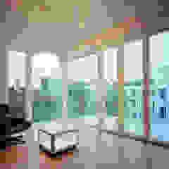 living room brandt+simon architekten Modern living room