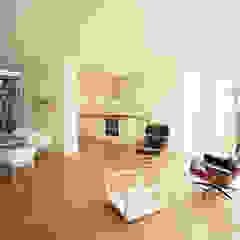 kitchen, living + dining room brandt+simon architekten Modern living room