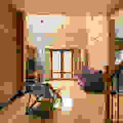 Bhaskara's House Salas de estar asiáticas por A3 Ateliê Academia de Arquitectura Asiático