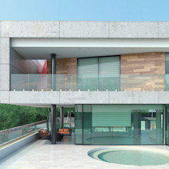 Area5 arquitectura SAS Modern Houses Concrete Grey