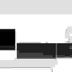 ESTILO EN TU SALA O DORMITORIO - EXCLUSIVOS MUEBLES HOME THEATER de 3 DECO Minimalista Compuestos de madera y plástico