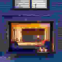 Panoramafenster mit Lesebank Moderne Wohnzimmer von KitzlingerHaus GmbH & Co. KG Modern