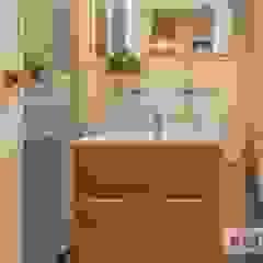 Cuarto de baño AMS decora BañosAseos Acabado en madera