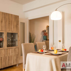salón comedor AMS decora ComedorVitrinas y aparadores
