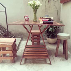 Departamento Seis 餐廳桌子 木頭 Wood effect