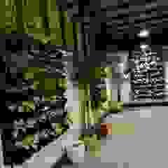 residence of Mr.Lakshman soni Modern garden by Hasta architects Modern