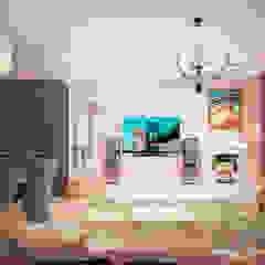 Гурьянова Наталья Modern Living Room MDF White
