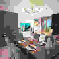 Гурьянова Наталья Modern Kitchen Wood Blue