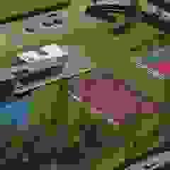 Un proyecto de playa y campo al sur de Lima Jardines de estilo moderno de Nicolás Bello Moderno