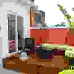 Balcones y terrazas eclécticos de BF Sustentabilidade, Arquitetura e Iluminação Ecléctico