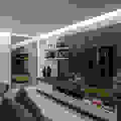 Ruang Media Modern Oleh Roberta Rennó Arquitetura Modern