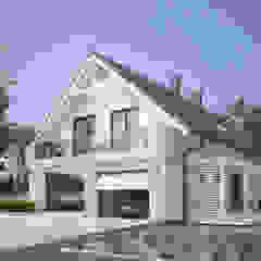 AMARYLIS 4 Nowoczesne domy od Biuro Projektów MTM Styl - domywstylu.pl Nowoczesny