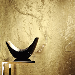 Architects Paper Walls & flooringWallpaper Amber/Gold