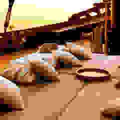 Amandira Yacht Asian style yachts & jets by Deirdre Renniers Interior Design Asian Wood Wood effect