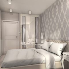 Modern style bedroom by ZAZA studio Modern